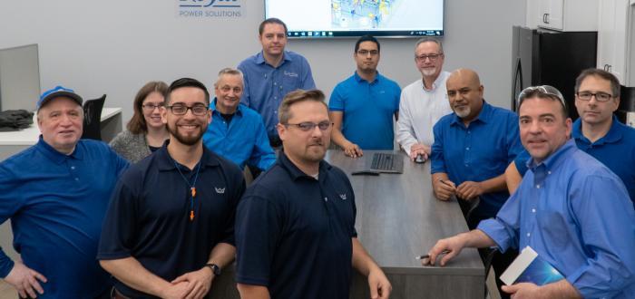Royal Power Solutions Innovation Center Engineering Team