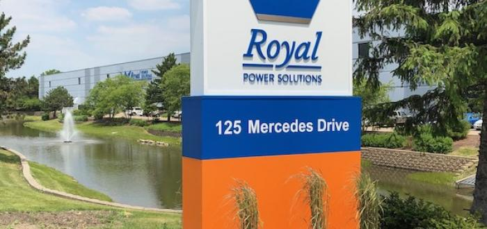 Royal Power Solutions Carol Stream Headquarters Exterior