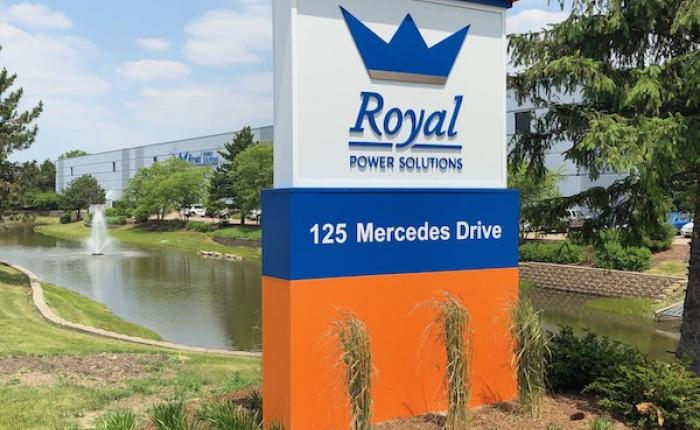 Royal Power Solutions Carol Stream Headquarters Exterior